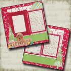 DECEMBER Premade Scrapbook Pages EZ Layout 367
