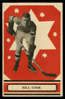 1933-34 V304A O-PEE-CHEE SERIES A #38 BILL COOK HALL OF FAME NEW YORK RANGERS