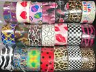 Fashion Patterned Duct Tape Rolls You Pick Printed Duck Tape Animal Camo Dye