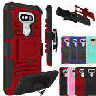 For LG G5 H860 Phone Case Heavy Duty Shockproof Protective Rugged Stand Cover