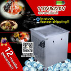 220v/110v 50*40cm electric square pan fried ice cream machine,25kg/h capacity