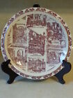 NEW ORLEANS PATIOS IN THE VIEUX CARRE SOUVENIR PLATE CHOPINS GIFT FLOWERS