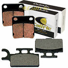 FRONT REAR BRAKE PADS Fits KAWASAKI KX65 2000-2017
