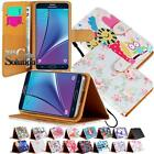 Flip Cover Stand Wallet Leather Case For Various Samsung Galaxy Mobile Phones
