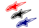 Alpinestars Decal Astar CHOOSE COLOR  SIZE free shipping