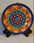 OLARIAJOSECARTAXO S.P. CORVAL PORTUGAL 1960S HAND PAINTED DECORATIVE PLATE