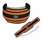 2Fit Dipping Belt Weight Lifting Body Building GYM Exercise Metal Chain New