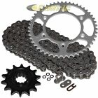 Steel O-Ring Drive Chain & Sprocket Kit for Husaberg Fe400E 2000 2001 2002 2003