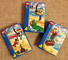 Genuine LEGO Pirate 7080 Pirate 7081 Pirate 7082 Crocodile Monkey Shark SET 3!