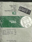 JOHN DEERE 8110,8210,8310 AND 8410 TRACTORS OPERATION AND TEST TECHNICAL MANUAL