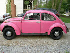 Volkswagen Beetle Classic Super 1971 pretty in pink vw beetle no engine no title