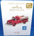2006 Hallmark 1961 GMC Fire Engine Retired Series Ornament