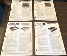 Philco Reel to Reel Tape Recorders Players Service Manuals Lot of 4 1968 Vintage