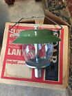 VINTAGE BERNZ O MATIC TX 007 PROPANE GAS LANTERN PORTA LIGHT SINGLE MANTEL CAMP