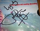 James Reyne Not Waving Drowning Signed Copy CD Single 2 Rare Demo For Living