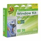 Duck Brand 281506 Indoor 10-Window Shrink Film Insulator Kit 62