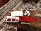 Vintage 1952 Plasticville Fire Department HO Scale Complete Unglued