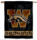 Western Michigan Broncos Banner House Flag New Free Shipping