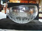 "Vintage Waterford Crystal Glass Lismore Essence Angular 9"" Bowl"