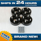 Black 4x100 Billet Wheel Spacers Adapters 4pc 2 inch fits Honda Toyota cb 4 lug