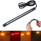Universal Motorcycle Tail Brake Stop Turn Signal Integrated 32 LED Light Strip