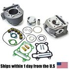Scooter 150cc GY6 Engine Rebuild Cylinder Head Kit Chinese Scooter 57mm Big Bore