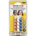 Snazaroo Face Painting Sticks  3 Color Pack Red White  Blue