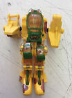 Playmates Exo Squad Incomplete Yellow Mech Frame Only See Pics