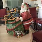 Fitz and Floyd Old Fashioned Christmas 50H Cookie Jar
