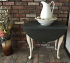 Queen Anne Drop Leaf Tea Table; French Country