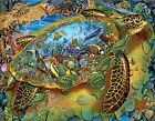 Sea Turtle World a 1000-Piece Jigsaw Puzzle by Sunsout Inc.