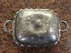 Antique Pairpoint Quadruple Plate #549 Butter Dish 19th Century 125yrs old!