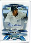 2012 BOWMAN CHROME - Robinson Cano - LEGENDS IN THE MAKING AUTO # 15