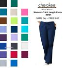 Cherokee Workwear TALL Womens Nurse Scrub Pants Style 4101T NEW Free Ship