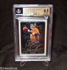 PEYTON MANNING 2014 Topps Museum Silver Framed 16 25 BGS Gem Mint 9.5 10 Auto
