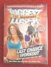 The Biggest Loser The Workout Last Chance Workout DVD 2009 New Sealed