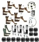 Sunstar 340,341,Walking Foot Kit,Plate,Feed ,Bobbins,Case,9assorted sets of feet