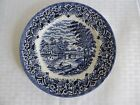 ROYAL ART SALAD PLATE STAFFORDSHIRE ENGLAND AT THE RIVER WITH A BOAT