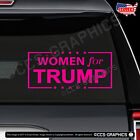 WOMEN FOR TRUMP DECAL car window sticker election president sign maga deplorable