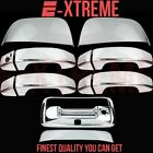 14~18 GMC CANYON HALF MIRROR+4DRS W/O PSGKH+TAILGATE W/CMERA HOLE CHROME COVERS