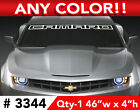 2011 Style CHEVY CAMARO  OUTLINE RS SS WINDSHIELD DECAL STICKER 46w x 4h