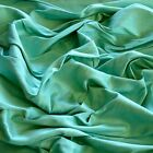 Seafoam Green Dupioni 100 Silk Fabric 4454 Wide By The Yard S-109