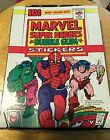 MARVEL SUPER HEROES GUM CARD STICKERS BOX 1976 Topps 36 MINT Packs