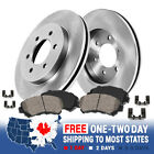 Front Rotors And Ceramic Brake Pads For 2000 2001 2003 2004 Montero 2WD 4WD