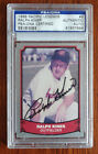 Ralph Kiner PSA DNA Certified 1988 Pacific Legends Auto #9 Cleveland Indians HOF