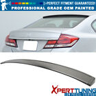 Fit 12-15 9th Gen FB Civic 4Dr IKON Style Painted Roof Spoiler-OEM Painted Color