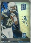 Keenan Allen 2013 Spectra Blue Refractor Auto RC 9 49 CHARGERS