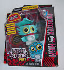 Monster High Secret Creepers Pets Sir Hoots A Lot Owl New in Box