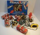 Lot of 2 Primal Lite 10 String Lights Patio Dalmations Fire Hydrants