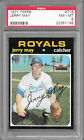 1971 Topps #719 JERRY MAY Royals PSA 8 NM-MT